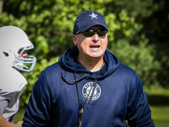 Siegel coach Michael Copley