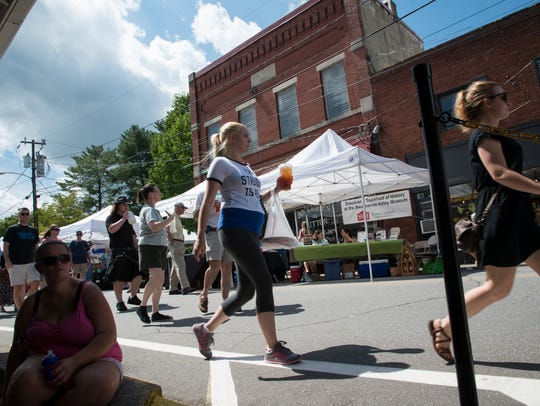 Tens of thousands of people will walk along Sutton, Black Mountain and Vance Avenues on Aug. 11 and 12 during the 41st Sourwood Festival in downtown Black Mountain