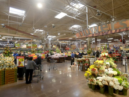 The grand re-opening of Kroger located on West University Parkway was held Wednesday.