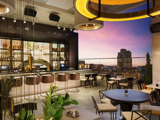 San Diego has a great selection of rooftop bars, and The Nolen is the hottest new sky-high watering hole.