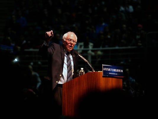 Sanders speech