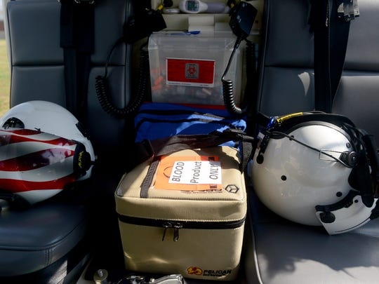 The Jackson Air Evac Lifeteam is now able to carry blood from Lifeline Blood Services during flight.