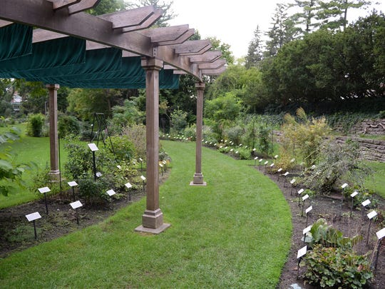 The Beal Botanical Gardens on Michigan State University's campus pictured on Thursday, Sept. 8, 2016. The garden is the oldest of its kind in the United States and was started by former professor William James Beal.
