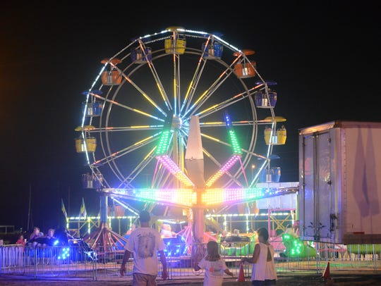 The gates of The West Tennessee State Fair opened,
