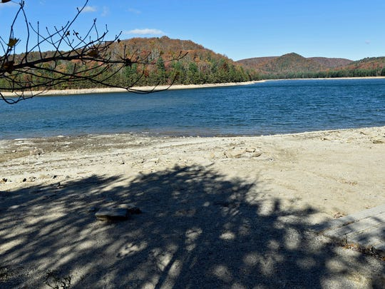 Water levels at Long Pine Reservoir are low. Franklin County is under a drought watch.