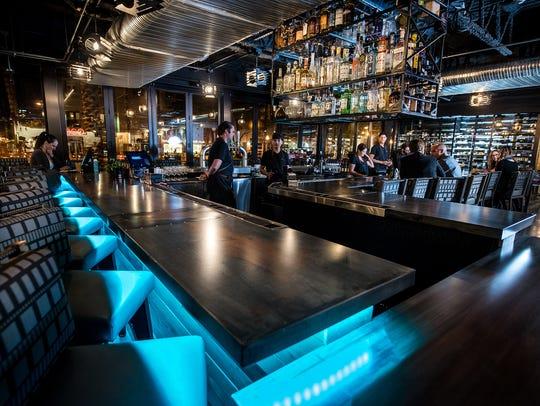 Match Bar Blue at Match Cuisine & Cocktails.