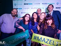 Mazelpalooza offers a dance party for Jewish young adults during the holidays. During Mazelpalooza, guests often see old friends and acquainances. 