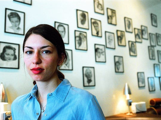 Film director and actress Sofia Coppola poses for a