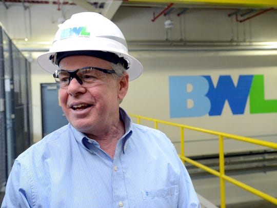 Dick Peffley, general manager of the Lansing Board of Water & Light since 2015, appears in a Lansing State Journal file photo.