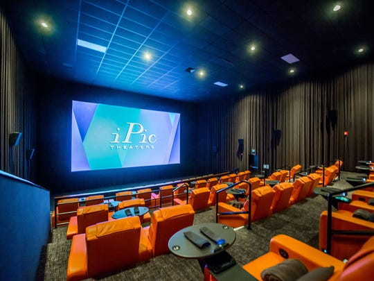 hottest trend at the movies luxury theaters wine and dine moviegoers in fight for entertainment. Black Bedroom Furniture Sets. Home Design Ideas