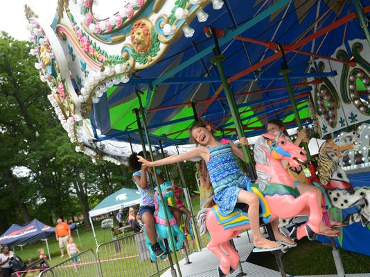 Carousel back on shores of Lake Lansing after 4-decade absence