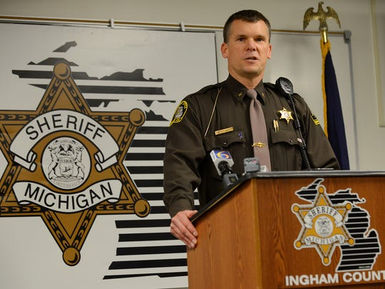 Ingham County Sheriff Scott Wriggelsworth apologized this week after using county resources to announce his re-election campaign.