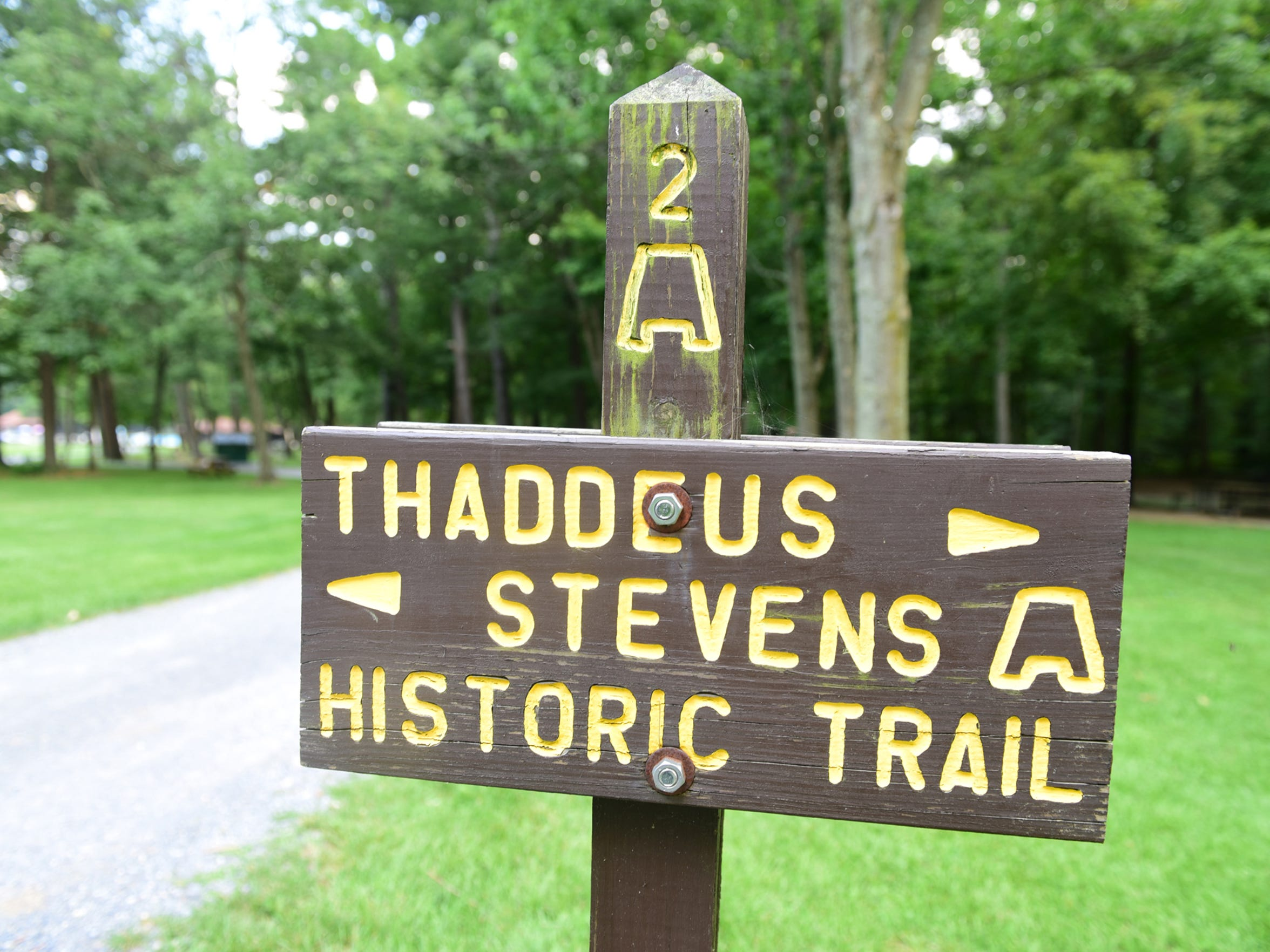 Various trails wait for explorers on Wednesday, August 2, 2017 at Caledonia State Park.