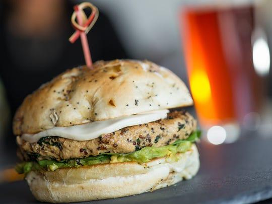 The vegan burger at the Yard House.