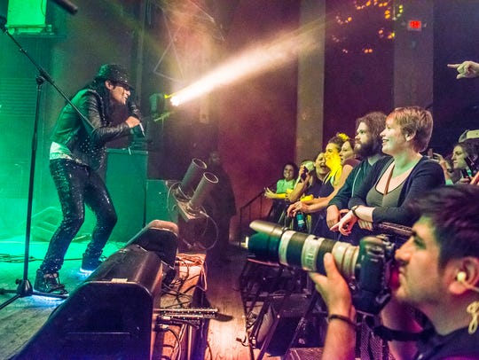 Corey Feldman performs at The Vogue in Indianapolis