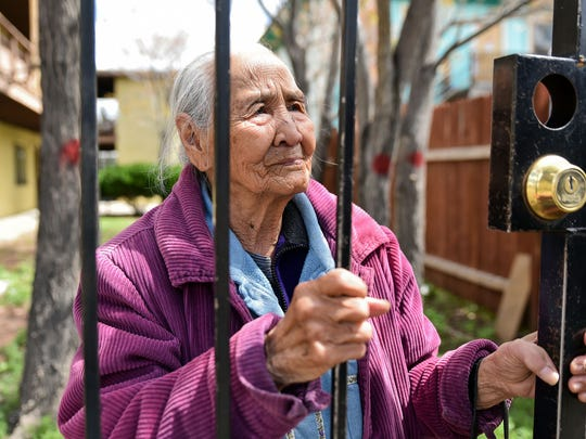 Adrianna Salem, 95, was facing eviction after her apartment