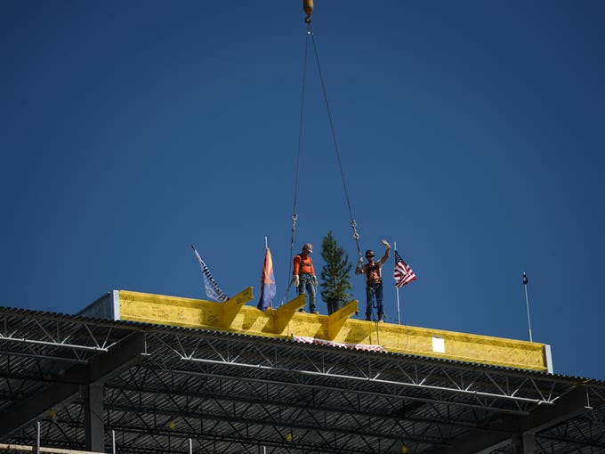 Oct. 18, 2017 - Phoenix Raceway installed one of the