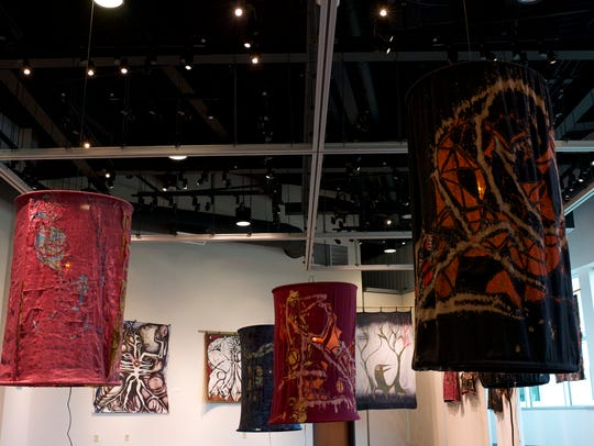 A closing reception for the Fabric of Forgetting exhibit