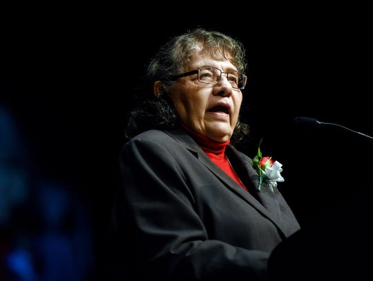 Dr. Diane Nash, Freedom Rider and civil rights activist,