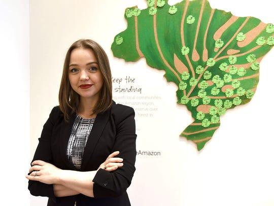 Natura Brasil store GSP: Adriana Duarte, manager of