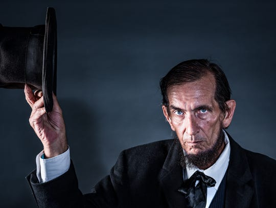 Bill Warren as Abe Lincoln