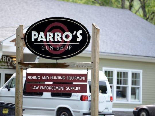 Parro's Gun Shop in Waterbury is seen in this 2012