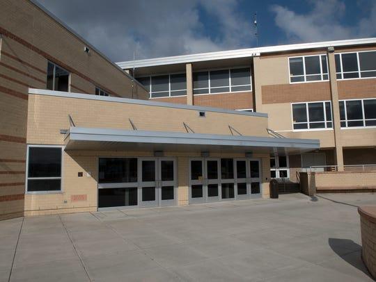 Waynesboro Area Senior High School has a metal detector,