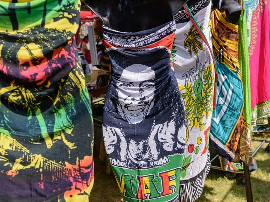 The spirit of Bob Marley was present Saturday at the Kentucky Reggae Festival sponsored by Four Roses Bourbon at Louisville Water Tower Park on River Road. May 26, 2018