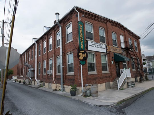 Roy Pitz Brewing Company is located at 140 N. Third St., just south of Grant Street.