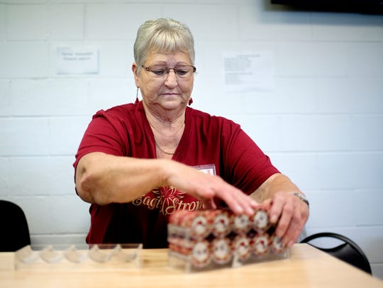 Woodland, Mich. Fraternal Order of the Eagles member Betty Carpenter says they service club she belongs to would probably not survive without charity poker fundraising events.