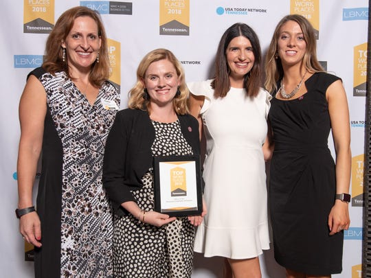 Tennessee Comptroller of the Treasury was honored at The TennesseanÕs Top Workplaces event on June 21, 2018 at City Winery.