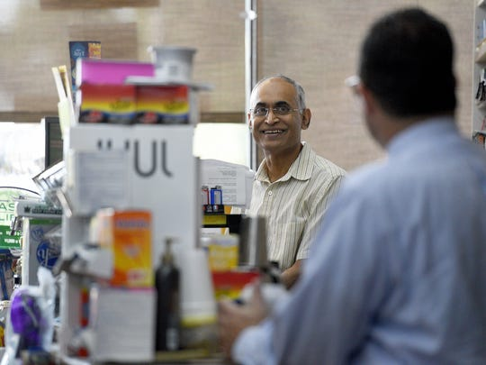 """Kirit Patel has been a friendly face as owner of Village Stationers in Ramsey for thirty-two years and Krauszer's Food Store next door for nineteen years. Patel recently sold the two stores on W. Main St. to care for his ill son. """"He makes you feel at home. He loves everyone,"""" said David Calleo, a regular at Village Stationers for thirty years."""