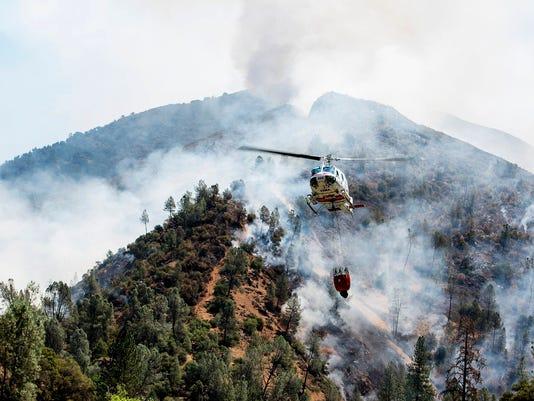 AP YOSEMITE WILDFIRE A WEA USA CA