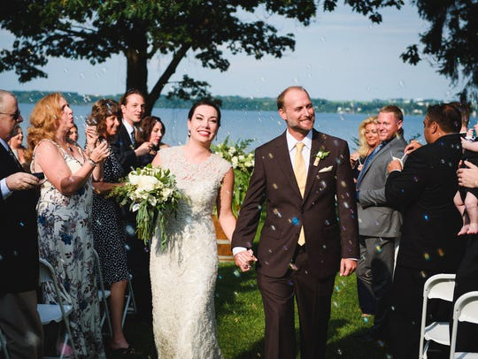 Wedding guests enjoy spending time at Belhurst as much