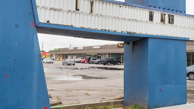 Escambia County Commissioners voted Thursday, Aug. 3, 2017, to approve demolition of vacant buildings in the old shopping center at the intersection of West Fairfield Drive and North Pace Boulevard in Pensacola. The land will be used for a new jail. The main building will stay up until current leases expire.