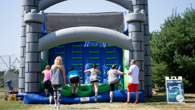 The Great Inflatable Race is expected to come to Hendersonville in the spring of 2018.