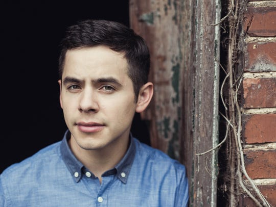 "David Archuleta was the runner-up on ""American Idol"""