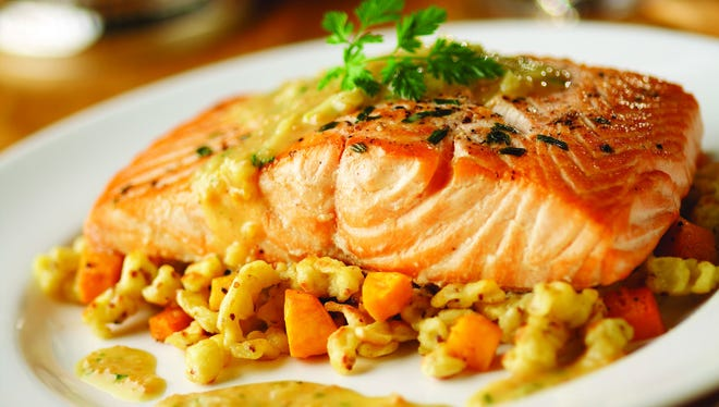 Eight of 10 courses on the Salmon Fest menu will feature the fish.