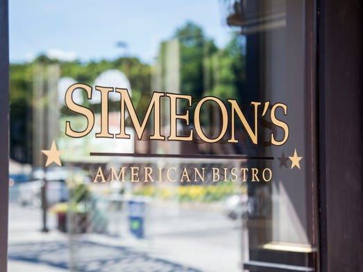 The Commons-side door of Simeon's, which will be opening
