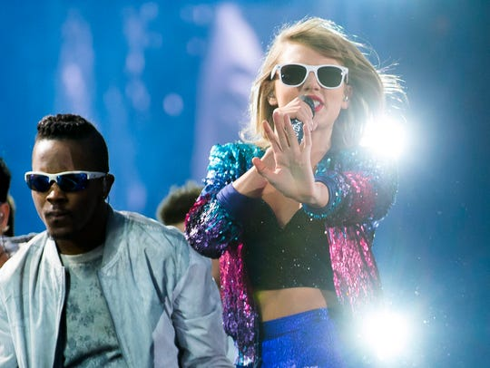 Taylor Swift performs during her 1989 World Tour on