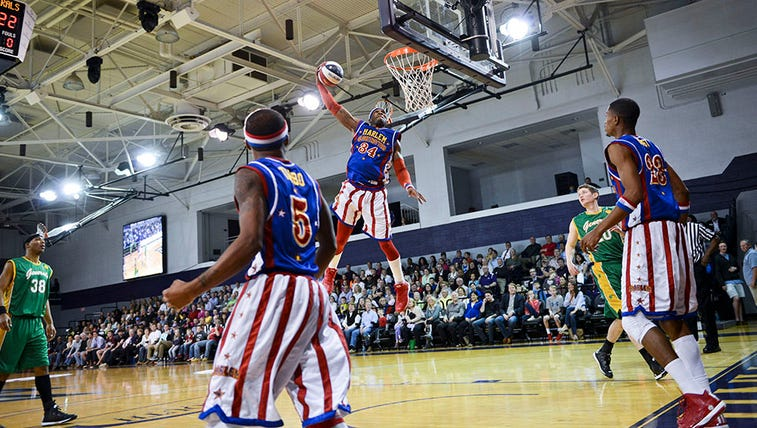 High Point University hosted the Harlem Globetrotters