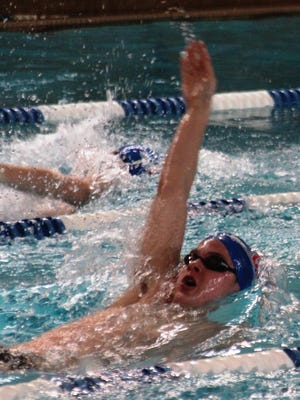 Brendan Meyer is defending state champion in the 500-yard freestyle, and swam a leg on CovCath's state-winning 400 freestyle relay team that set a state record.