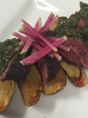 Chef Shawn Calley shares his homemade chimichurri sauce recipe.