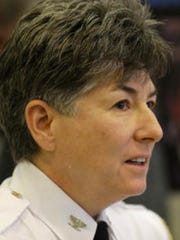 Deputy Chief Valerie Cunningham, from IMPD's patrol division, was named the acting chief by Mayor Joe Hogsett on Dec. 31, 2016. Former Chief Troy Riggs resigned earlier in the month.