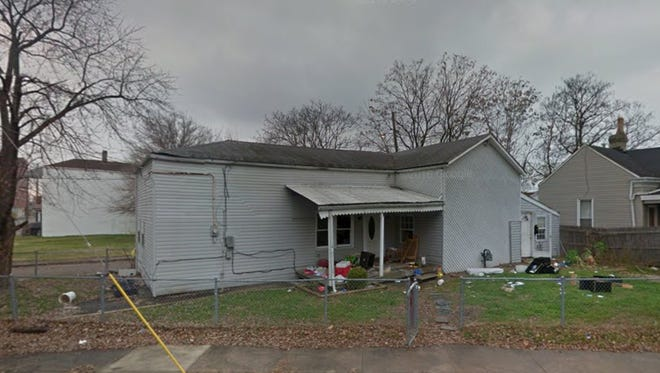 Property at 1600 Bank St. in prior to renovation.