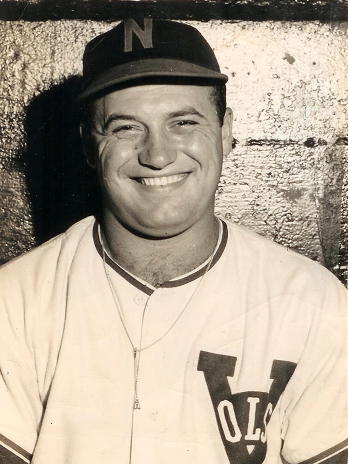 Carl Sawatski played for the 1949-50 Nashville Vols.