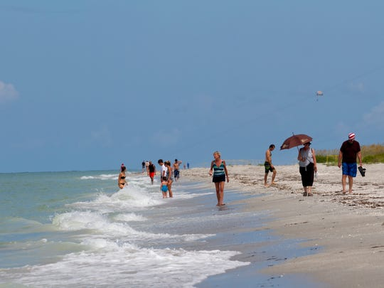 "Bowman's Beach is one of the three beaches in Florida designated with ""Superstar"" status in the ""Testing the Waters 2014"" report."