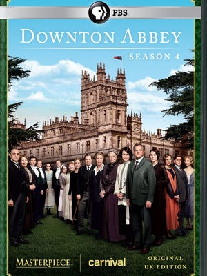 'Downton Abbey: Season 4' came out on DVD today.