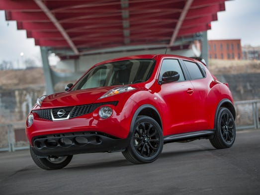 The 2015 Nissan Juke Fuses A Sporty Driving Position