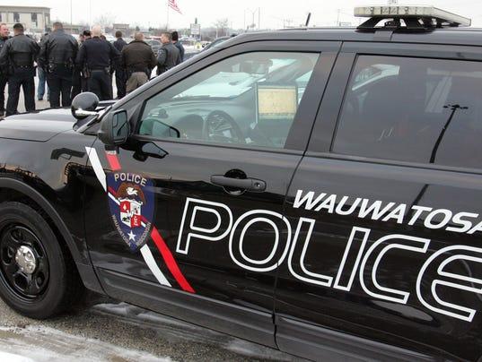 Wauwatosa police car